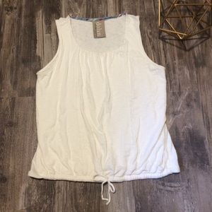 Anthropologie/ Dolan white tank